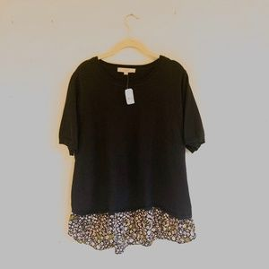 LOFT | Size XXL | NWT | Short Sleeve Sweater